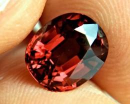 4.17 Carat IF/VVS1 African Rhodolite Garnet - Superb