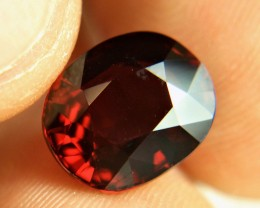 CERTIFIED - 7.87 VVS1 Flashy Almandite Garnet - Gorgeous