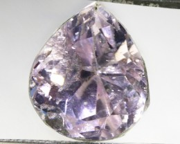 9.9 ct Pear faceted Kunzite GOGO 1851