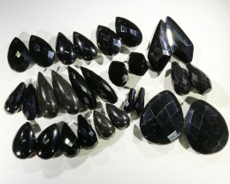 400 cts mixed faceted onyx bead,14  pairs GOGO 1853