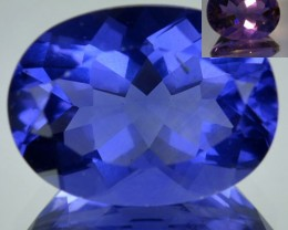 9.37 Cts Natural Color Change Fluorite Oval Cut Brazil Gem