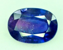 GIA Certified 3.94 Cts World Rare Zoned Purple And Blue Color Kashmir Sapph