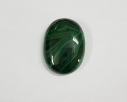 72.70 carats Malachite Oval Cabochon G0029