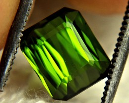2.03 Carat Green Nigerian VVS Tourmaline - Gorgeous