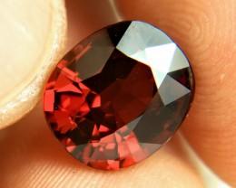 7.67 Carat VVS1 African Rhodolite Garnet - Superb