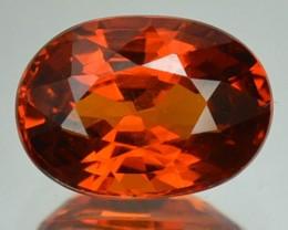 1.96 Cts Natural Mandrain Orange Spessartite Garnet Oval Cut Namibia Gem