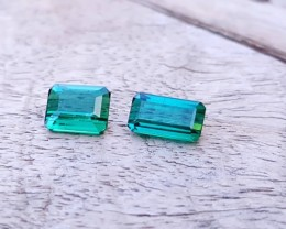 2.45 Ct Natural Blue Tourmaline Flawless Small Size Gems