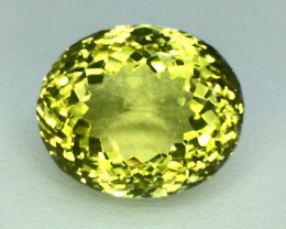 24.60 Crt Natural Lemon Quards Faceted Gemstone (MG 09)