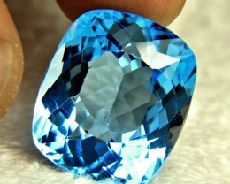 25.00 Ct. Blue Brazil VVS Topaz - Gorgeous