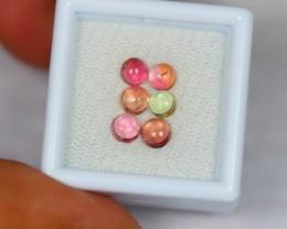 2.47ct Natural Fancy Color Tourmaline Cabochon Lot D204