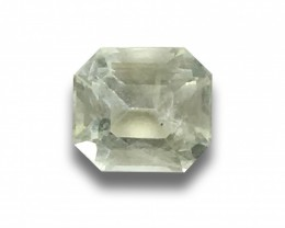 Natural Unheated Light Yellow Sapphire|Loose Gemstone|New