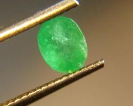 0.87cts  Emerald , 100% Natural Gemstone