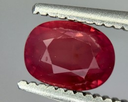 1.08 Crt Ruby Unheated Gil Certified Faceted Gemstone