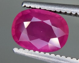 1.17 Crt Ruby Unheated Gil Certified Faceted Gemstone