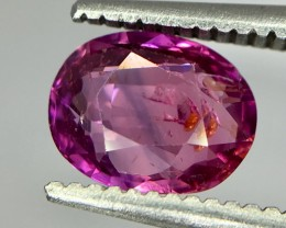 1.30 Crt Ruby Unheated Gil Certified Faceted Gemstone