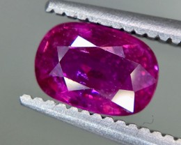 1.02 Crt Ruby Unheated Gil Certified Faceted Gemstone
