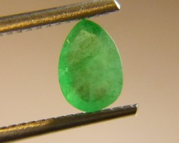 0.84cts  Emerald , 100% Natural Gemstone