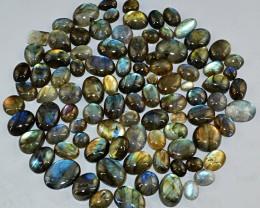 Genuine 715.00 Cts Amazing Flash Labradorite Gemstone Lot