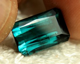 6.64 Ct. Blue African Tourmaline - Gorgeous