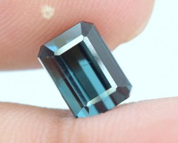 No Reserve - 2.00 cts Untreated Eye Clean Indicolite Tourmaline from Afghan