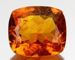 2.19 Ct Extremely Rare Natural  Fire Orange Clinohumite Siberian Gem