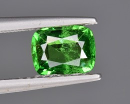 1.22 Cts Vivid Green Natural Tsavorite Garnet