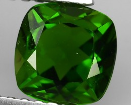 1.20 CTS NATURAL ULTRA RARE CHROME GREEN DIOPSIDE RUSSIA