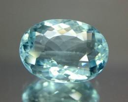 3.15 Crt Aquamarine Faceted Gemstone (R 196)