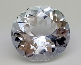 6.50Crt Natural Aquamarine Blue  Best Grade Gemstones JI 64