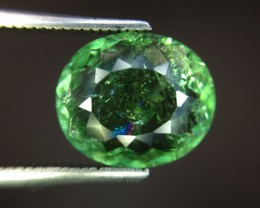 Certified 4.11 Cts Paraiba Tourmaline Attractive Higher Color ~ Mozambique