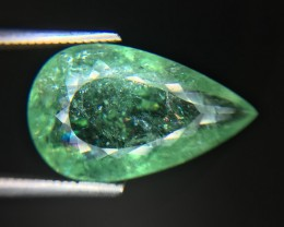 Certified 9.27 Cts Paraiba Tourmaline Attractive Higher Color ~ Mozambique