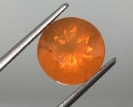 2.92 Carat Orange Fire Opal - Lots of Fire !
