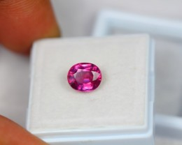 2.75ct Natural Ruby Oval Cut Lot V1602