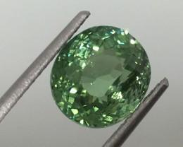 3.43 Carat VS Green Tourmaline - Spectacular Color Flash