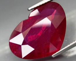 14.87 Cts. Top Quality Blood Red Natural Ruby Madagascar Gem