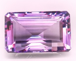 9.91ct PINK MAUVE ROSE DE FRANCE AMETHYST -