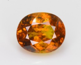 1.90 Ct Brilliant Color and Quality Natural Titanite Sphene ~ ARA