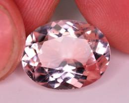 Superb Quality 6.45 Ct Natural Light Pink Morganite