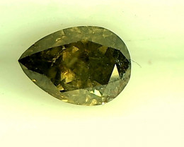 0.31ct Green Diamond , 100% Natural Untreated