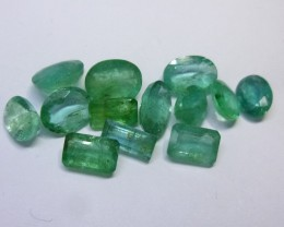 13.57cts  Emerald , 100% Natural Gemstone