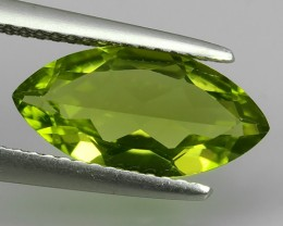 2.40 Cts High Best Natural Apple Green Marqise Pakistan Peridot NR!!!