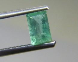0.56cts  Emerald , 100% Natural Gemstone