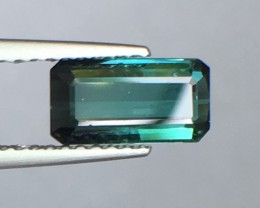 1.28 Cts Untreated Tourmaline Awesome Color ~ Afghanistan Pk29