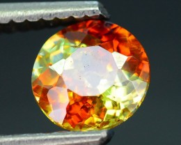Rare 1.09 ct Spanish Sphalerite Bi Color Great Dispersion SKU 4