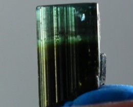 9.20 Ct Unheated ~ Natural  Superb Green Tourmaline Crystal