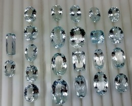 203CT TOP BLUE AQUAMARINE OF PAKISTAN ORIGIN PARCEL