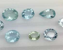 20.85 Crt Aquamarine Faceted Gemstone (R 197)