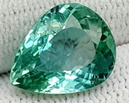 5.80CT GREEN SPODUMENE  BEST QUALITY GEMSTONE IGC463