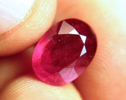 6.56 Carat Fiery Pigeon Blood Ruby - Gorgeous
