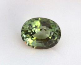 2.50 Carat Fantastic Oval Cut Minty Green Tourmaline